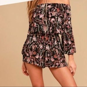 Free People Shorts Romper